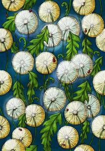 Pattern dandelion von Anna Brodovska