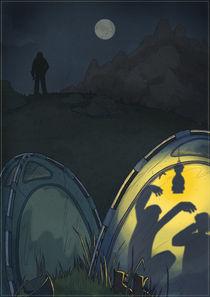 Black alpinist by Anna Brodovska