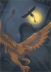 Griffons' tower by Anna Brodovska