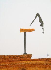 Turmspringen by Theodor Fischer