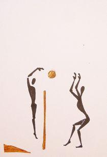 Volleyball von Theodor Fischer