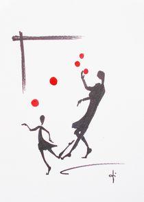 Jonglieren by Theodor Fischer