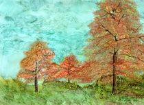 Fall Trees von Linda Ginn