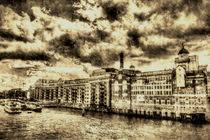 Butlers Wharf London Vintage by David Pyatt