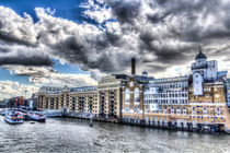 Butlers Wharf London by David Pyatt