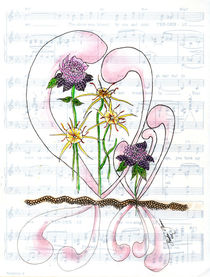 Flower Symphony Collage by Linda Ginn