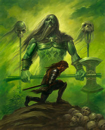 Gawain and the Green Knight von Alan Lathwell