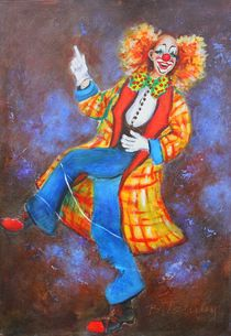 Clown Jonas 2 von Barbara Tolnay