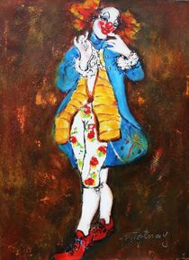 Clown Luis von Barbara Tolnay