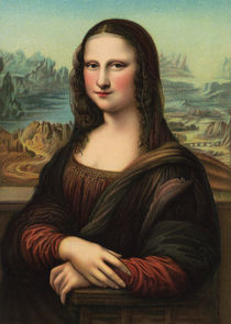 Mona Lisa Smile by decoratifcollections
