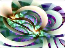 Digital Eisblume by bilddesign-by-gitta