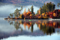 Herbsttag by Gerhard Albicker