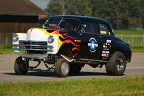 1950 Plymouth Special Deluxe Gasser by Mark Gassner