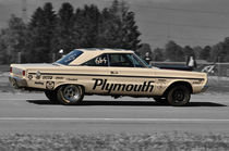 Plymouth Belvedere Dragster, Mitzieher, Colorkey by Mark Gassner