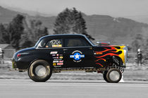 1950 Plymouth Special Deluxe Gasser, Mitzieher, Colorkey by Mark Gassner
