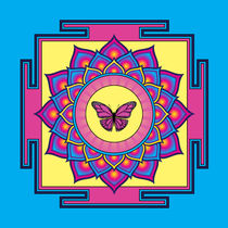 Butterfly Mandala by Galactic Mantra