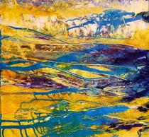 abstrakte Landschaft by Barbara Ast
