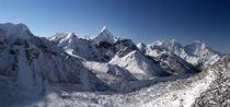 Der Khumbu Eisbruch by Gerhard Albicker