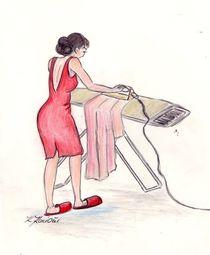MaMamsell bügelt  ©KatKaciOui by Katrin KaciOui