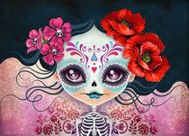 Amelia Calavera - Sugar Skull by Sandra Vargas