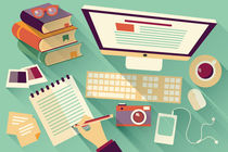 Flat-design-office-desk-04