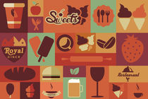 Flat Food Icons by bluelela