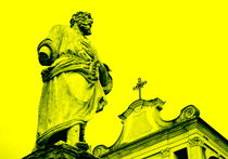 Polirone Abbey in Yellow von Valentino Visentini