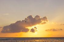 Sonnenuntergang in Büsum von AD DESIGN Photo + PhotoArt