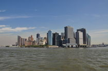 New York, Lower Manhattan by Mark Gassner
