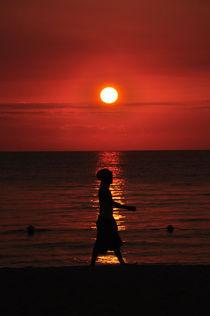 Rastaman Sunset von David Halperin