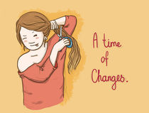 A Time Of Changes von Kate Hasselnott