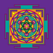 Metatrons-cube-mandala-orange