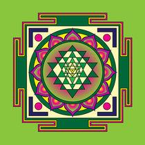 Sri-yantra-green