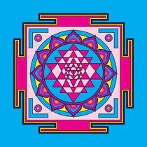 Sri-yantra-pink