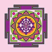 Sri-yantra-violet