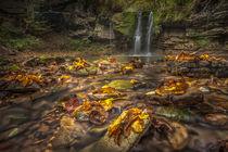waterfall Peracica by Bor Rojnik