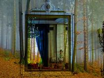 A view at the autumn von Gabi Hampe