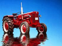 McCormick Oldtimer Trecker Traktor by Peter Roder