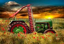 Holder Oldtimer Trecker Traktor von Peter Roder