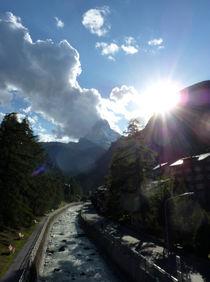 Matterhornblick by Franziska Rullert