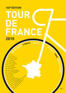 MY TOUR DE FRANCE MINIMAL POSTER by chungkong