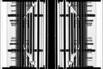 Gespiegelte Gitter  by Bastian  Kienitz