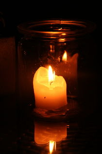 A candle in the night von atari-frosch