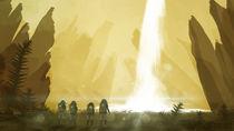 Alien-waterfall