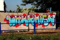 Graffiti: Wahrhusk von atari-frosch