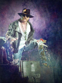 Guns N' Roses lead vocalist Axl Rose by loriental-photography