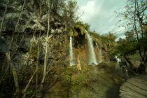 Plitvice waterfall  von Rob Hawkins