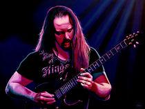 John Petrucci painting von Paul Meijering