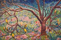 Frühlingsidylle  120 x 80 Ölbild by Silvia Kafka