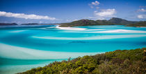Blue Paradise Whitehaven Beach Whitsunday Island by mbk-wildlife-photography